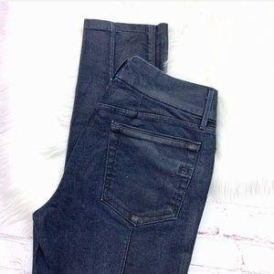 👖I•HABITUAL•I  'Vixen' Wax/Coated Jeans 28x28 👖